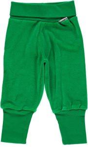 Maxomorra  Green Velour Rib Pants