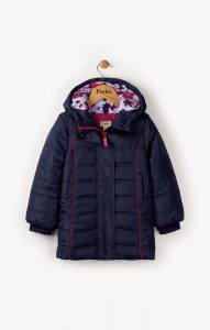 Hatley Navy Fitted Puffer