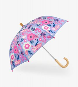 Hatley Sketchy Flowers Child's Umbrella