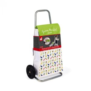 Janod Green Market Shopping Trolley