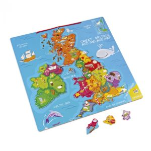 Janod Magnetic Great Britain & Ireland Map