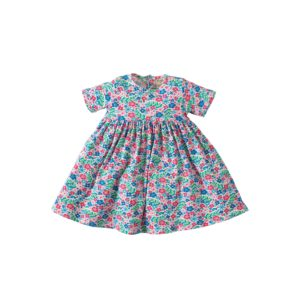 Frugi Ditsy Garden Romper Dress