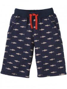 Frugi Navy Shark Patrol Samson Shorts