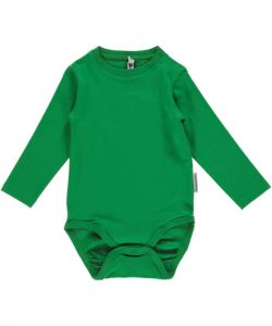 Maxomorra Basic Green Long Sleeve Body