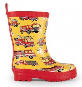 Hatley Fire Trucks Rainboots