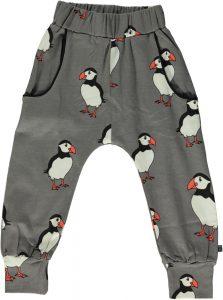 Smafolk Wild Dove Puffin Print Sweat Pants