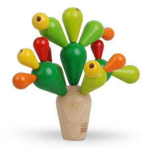 Plan Toys Wooden Balancing Cactus Game