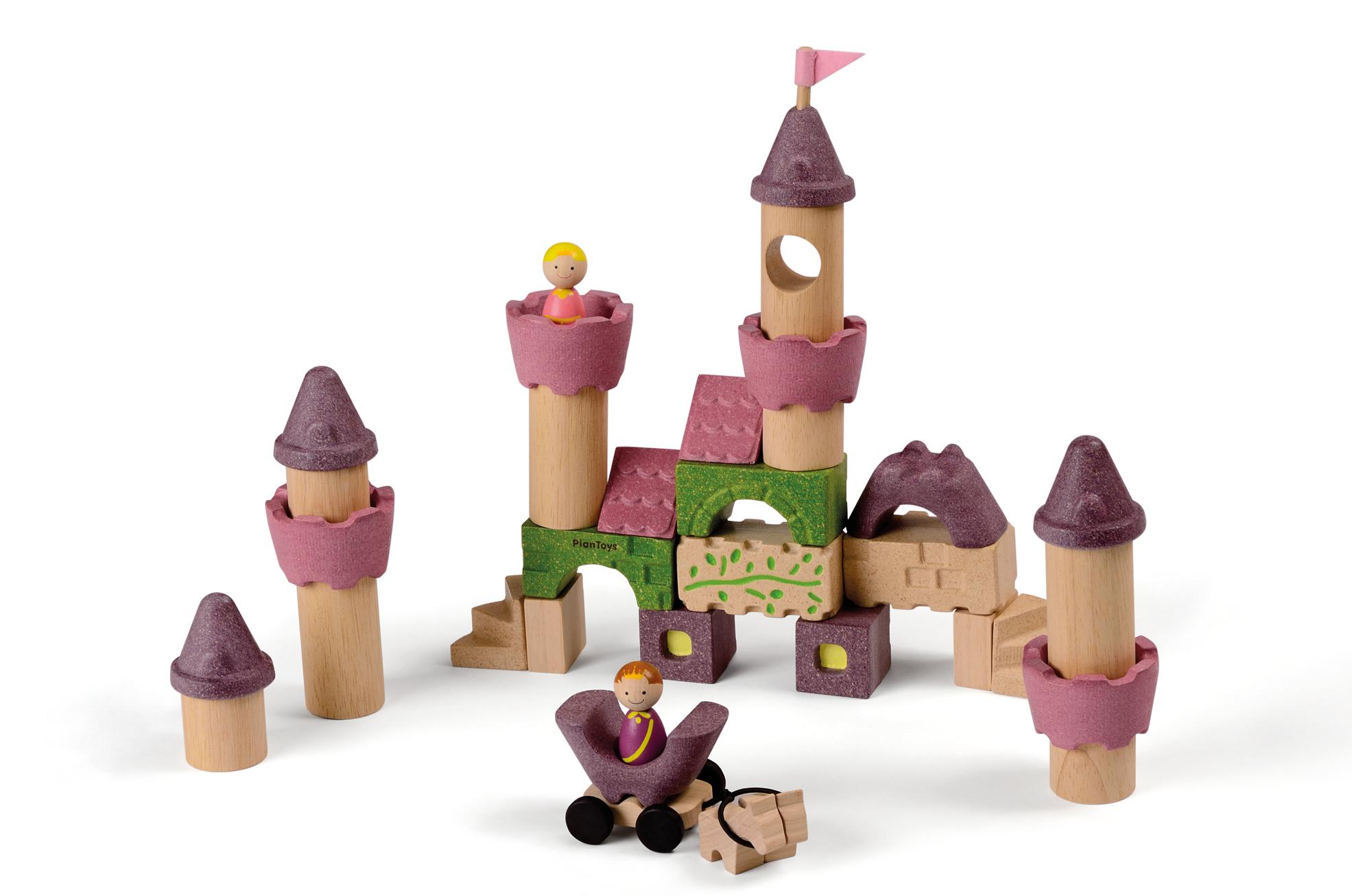 Plan Toys Wooden Fairy Tale Blocks Catfish Kids