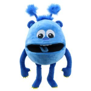 The Puppet Company Blue Baby Monster Puppet
