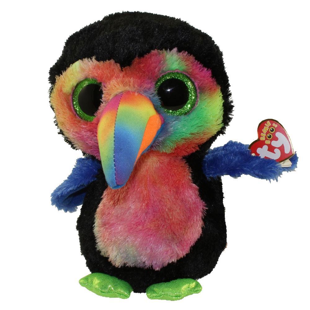 Ty Beanie Boo - Beaks the Toucan - Catfish Kids ae4542048e7