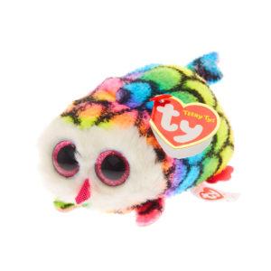 Ty Beanie Teeny Ty – Hootie the Rainbow Owl