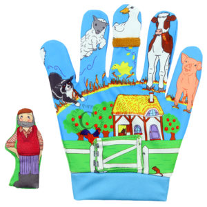 The Puppet Company Favourite Song Mitts: Old MacDonald