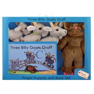 The Puppet Company Traditional Story Set: Three Billy Goats Gruff