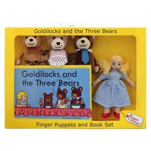 The Puppet Company Traditional Story Set: Goldilocks & The Three Bears
