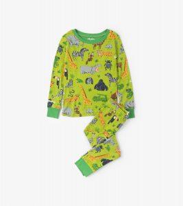 Hatley Green Safari Adventure Long Pyjamas