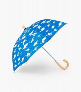 Hatley Blue Dinosaur Menagerie Colour Change Umbrella