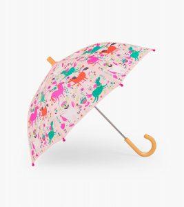 Hatley Pink Roaming Horses Umbrella