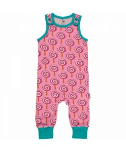 Maxomorra Lollypop Playsuit Dungarees