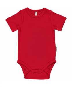 Maxomorra Basic Red Short Sleeve Body