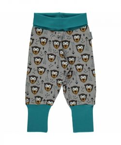 Maxomorra Arrow Monkey Plus Print Rib Pants