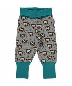 Maxomorra Arrow Monkey Plus Print Rib Pants