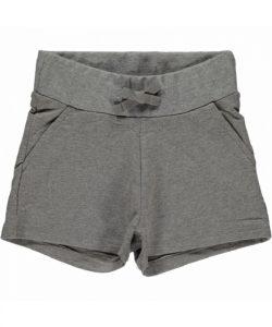 Maxomorra Basic Light Grey Melange Sweatshorts