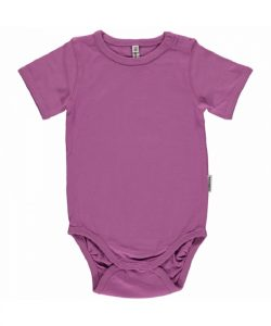 Maxomorra Basic Light Purple Short Sleeve Body