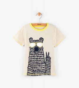 Hatley Cream Sandy Beach Tee