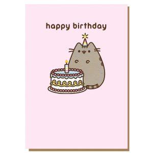 Hype Associates Pusheen Happy Birthday Cake Card
