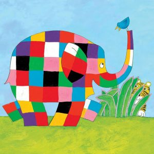 Hype Elmer Square Card