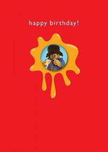 Hype Paddington Badge Happy Birthday Card