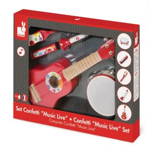 Janod 'Music Live' Confetti Music Set