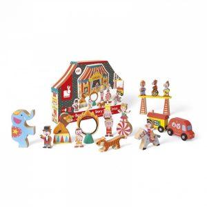 Janod Wooden Story Box Circus