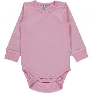 Maxomorra Light Pink Long Sleeve Organic Cotton Body