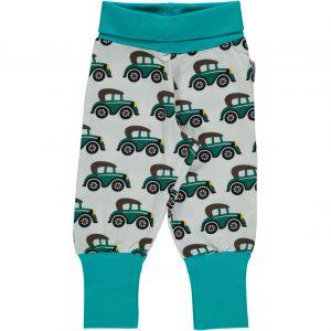 Maxomorra Veteran Car Organic Cotton Rib Pants