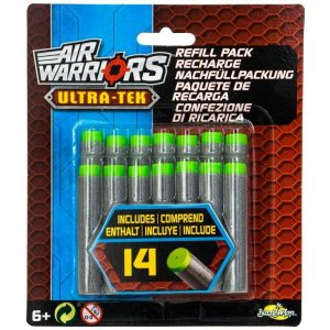 Air Warriors Ultra-Tek Refill Pack Darts