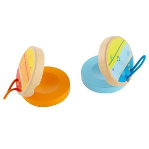 Hape Clickety-Clack Clapper – orange