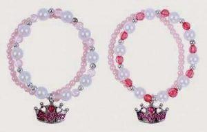 Pink Poppy B-Glitter Flower Bangle