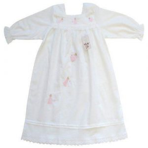 Powell Craft Handmade Maddy White Nightdress