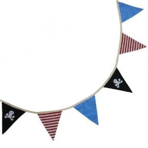 Powell Craft Handmade Pirate Bunting