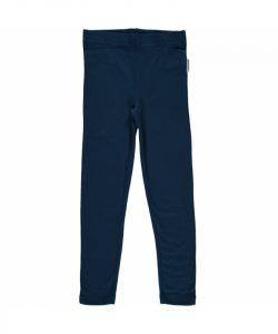 Maxomorra Dark Blue Basic Leggings