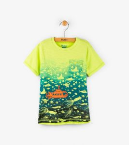 Hatley Green Underwater Empire Tee Shirt