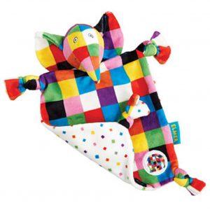 Rainbow Designs Elmer Comfort Blanket