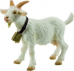 Bullyland White Farmland Goat
