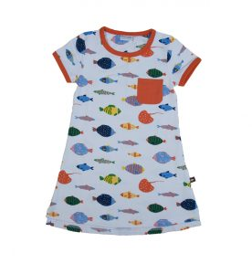 Moromini Fish Life T-Shirt Dress