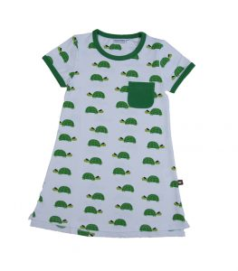 Moromini Happy Turtles T-Shirt Dress