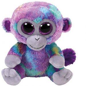 Ty Beanie Boo Zuri Rainbow Monkey