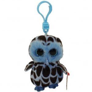 Ty Beanie Clip Yago the Owl