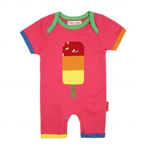 Toby Tiger Lolly Applique Short Romper