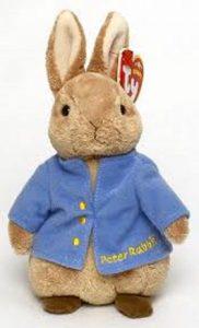 Ty Beanies Beanie Baby Peter Rabbit